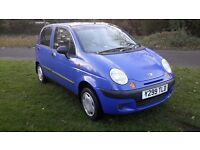 Daewoo matiz small engine tax and mot