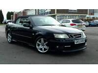 For sale SAAB 93 CONVERTERIBLE AERO 2.0 TURBO PADDLE SHIFT AUTOMATIC PX AVAILABLE 1 YEAR MOT