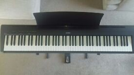 Kawai ES100 Stage Piano (Digital), as new, with folding stand and accessories