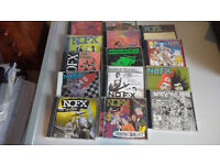 NOFX Collection of CDs- all 14 CDs in original case - ideal for collector- offers around £30 + p&p