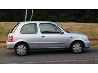 Nissan micra . 2002 . 998cc . full service history