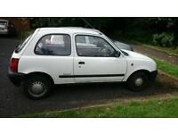 Wanted white nissan micra k11 with or without mot
