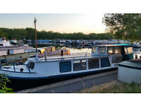 1 bed barge / houseboat/ boat for sale on residential mooring