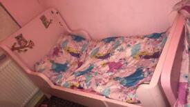 Girls ikea bed