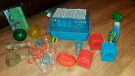 Felplast Hamster cage and accessories