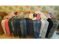 Huge girls 10-11 years clothes bundles in excellent condition