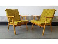 Vintage TON Armchair Design Loft Modern Mid Century