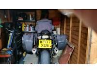 Motor cycle panniers