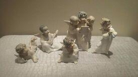 Lladro Angel Figures