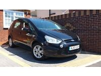 FORD S-MAX ZETEC TDCi YEAR 2010 7 SEATER Auto-Semi DIESEL Facelift Parking Sensors