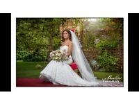 REDUCED Mark Lesley 7166 wedding dress
