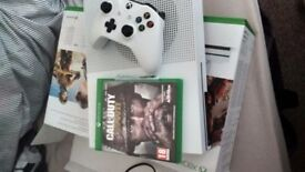 Xbox one s with call of duty ww2 brand new got the box £170