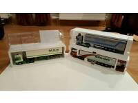 Diecast lorry models