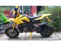 Road legal pitbike powered by tzr125r belgarde enngine