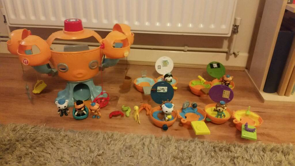 Octonauts octopod with four on the go pods | in Bishops Stortford ...