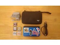 Nintendo 3DS XL + 5 Games (inc. Pokemon Omega Ruby, X, Ranger Shadows of Almia & Nintendogs)