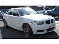 2013 62 BMW 1 SERIES 2.0 118D SPORT PLUS EDITION 2d 141 BHP*PART EX WELCOME*FINANACE AVAILABLE