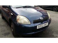 *BARGAIN* Toyota Yaris 2002 1.0 VVT-i 16v GS 5 doors, *Lady owner since 2010*