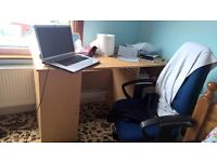 5ft Student desk with side draws