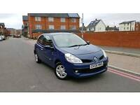 2008 Renault Clio 1.2 16v Expression 3dr **F/S/H+2 OWNERS+IMMACULATE**
