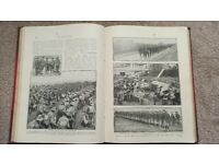 The Great War by H. W. Wilson. Volumes 1 to 5 illustrated
