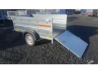 BRAND NEW MODEL 6x4 DOUBLE BROADSIDE TRAILER WITH RAMP