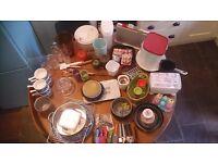 Kitchen job lot Joseph Joseph, spiralizer, vintage, cake tins and more. Car boot?