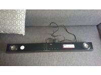 Black LG speaker