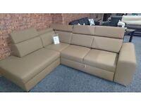 Corner Sofa Bed WINSOR V brown