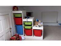 Ikea toy storage unit