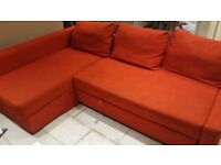 Sofa for sale only £75 .