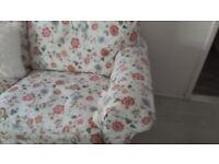 2 seater ikea erktorp sofa cover as new
