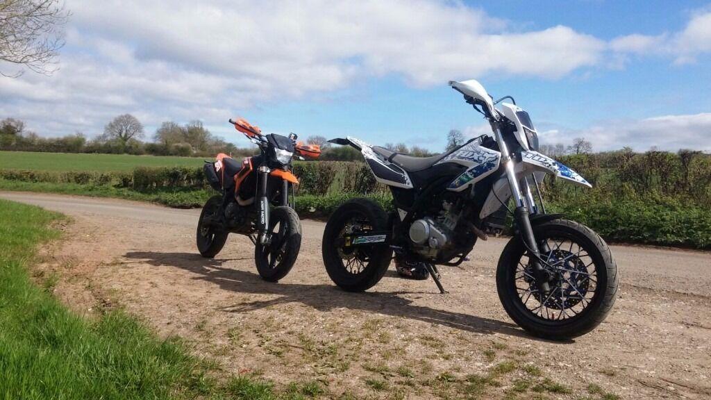 2015 ksr moto tw 125 sm in derby derbyshire gumtree. Black Bedroom Furniture Sets. Home Design Ideas