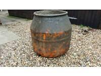Bell concrete mixer drum