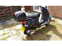 Vespa 50cc Lx with carrier