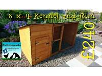Dog kennel and runs brand new 8, 10 & 12 foot long