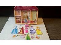 Disney Princess wooden magnetic fashion dress up