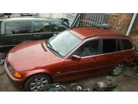 Bmw 328i petrol petrol breaking all parts available