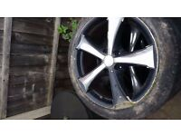 17 inch RS alloys retail over £500