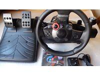 Logitech Driving Force GT (read description)