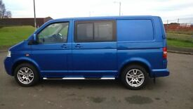 2005 FACTORY VW CREW VAN 6 SEATER MINT NO VAT