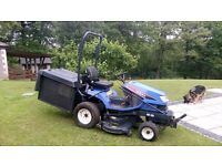 "ISEKI SXG19 HIGH TIP RIDE ON MOWER WITH 48"" CUT."