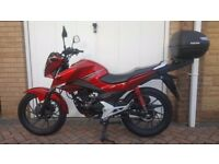 Honda CB125 F CBF125 CB125 in excellent condition. 65 Plate. Ideal first bike or commuter 100mpg+