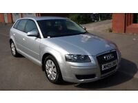 QUICK SALE 2005 AUDI A3 1.6 SPECIAL EDITION PETROL 5DR MANUAL IN BEAUTIFUL SILVER. VGC. BARGAINS