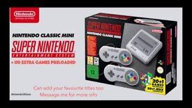 SNES Mini Classic - 200 Games