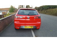 Seat Ibiza 1.4. Sportrider, petrol, 2008 (58), 3dr, MOT 31st October 2016, £995 ONO