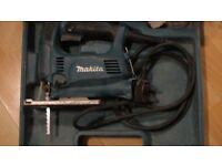 used MAKITA 4329 240v Jigsaw top handlen with box