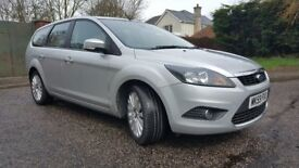 2009 59 ,focus estate titanium,1800tdci diesel,fsh,92000mls