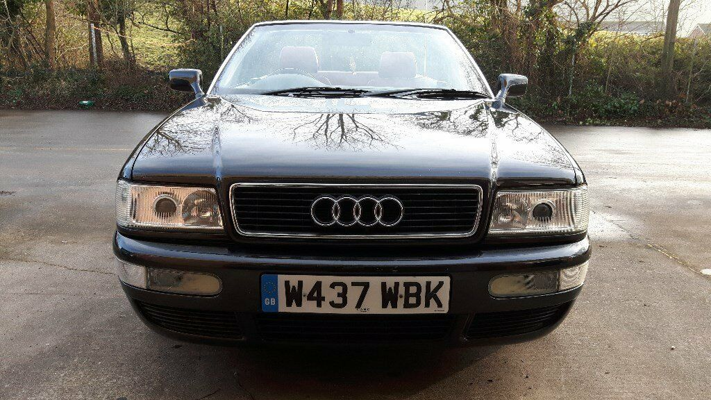 AUDI CABRIOLET 80 B4 CONVERTIBLE YEAR 2000 1.8 LTRE MOT JULY 2018 DOES NEED SOME TLC
