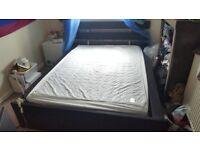 IKEA Bed & Mattress (MALM Model) (PICKUP ONLY)